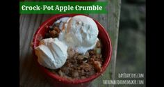 Apple crumble is perfect for fall, especially if you can go apple picking to get the apples! Make this gluten and sugar free apple crumble in the crock-pot.