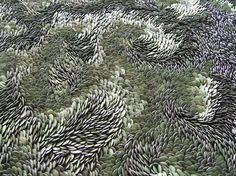 FLOWS: Swirling Ceramic Art by Fenella Elms