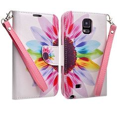 Samsung Galaxy Note 4 Case, Black Belt Clip Holster Armor Protective Case, Defender Cover (Black, Includes HD CLear Screen Protector and Touch Sensitive Stylus Pen) (SUN FLOWER), http://www.amazon.com/dp/B00OOF3MG6/ref=cm_sw_r_pi_awdm_ogM0ub1Z6F5AJ