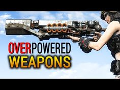 Fallout 4 Rare Weapons: Top 5 Overpowered Weapons - YouTube