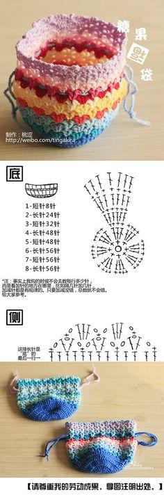 手工DIY 编织 糖果福袋-桃涩桃涩…