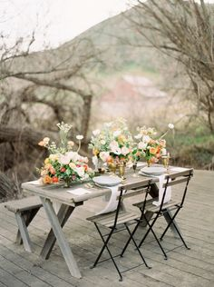 Organic Peach and Gold Anniversary Session