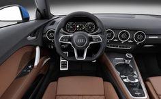 2016 Audi TT inside