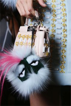 Fendi Fur Monster