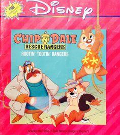 Chip 'N Dale Rescue Rangers Rootin' Tootin' Rangers by Lonestarblondie on Etsy