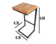 Resultado de imagen para mesa de arrime para sillon