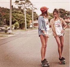 Summer Skateboarding Style