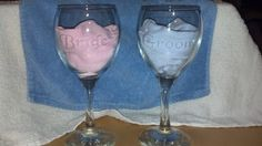 Hey, I found this really awesome Etsy listing at https://www.etsy.com/listing/198124664/personalized-etched-bride-groom-wine