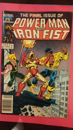 Final issue of Power Man and Iron Fist #125 Sept