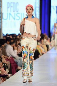 Rizwan Beyg Collection at PFDC Sunsilk Fashion Week Day 3