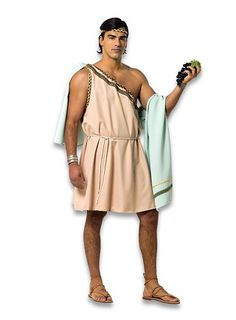 Ancient Greek Inspired Mens Costume With Himation