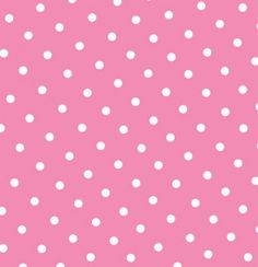 Free Minnie Mouse Pink & White Polka Dots Background Printable