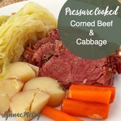 Celebrate St. Patrick's Day with corned beef & cabbage -- cooked in the pressure cooker!