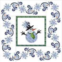 Looking for your next project? You're going to love Applique Quilt - Let It Snow by designer urbanelementz. - via @Craftsy