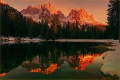 Reflections at Antorno lake. by Stefano Crea on 500px