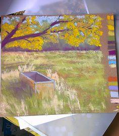 Une peinture par jour.... ou presque | Envie de peindre. Besoin de peindre..... alors pourquoi pas 1 petit pastel par jour.... et 1 grand d...