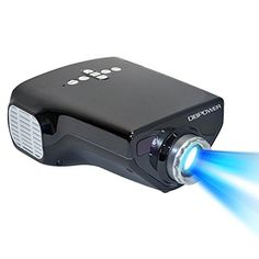 "Price:	£56.99 & FREE Delivery in the UK  E03 Mini LED Projector Native 320*240 Smart Home Cinema Support 1920*1080 Image up to 100"" with 50 Lumens VGA HDMI 1080P HDTV USB Multimedia Built-in Hi-Fi High Fidelity Speaker 20000 Hrs Lamp Life DBPOWER http://www.amazon.co.uk/dp/B00KWZSIBQ/ref=cm_sw_r_pi_dp_yuS7ub0VM91Q5"