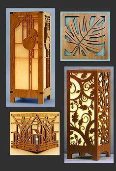 Laser Cut Wood and Paper Products by Lightwave Laser