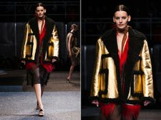 Semana de Moda de Milão: veja como os estilistas adicionaram o dourado nos looks do inverno 2014-15