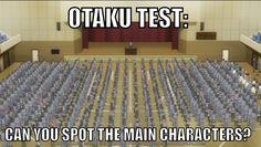 Otaku test ~ Assassination Classroom Ash Carter https://www.pinterest.com/AnimeAllstar/