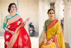 Bling Sparkle: 41 Latest pattu saree blouse designs to try in Latest Pattu Sarees, Latest Saree Blouse, Blouse Designs High Neck, Netted Blouse Designs, Kerala Saree Blouse Designs, Saree Blouse Patterns, Simple Blouse Pattern, Saree Look, Indian Designer Outfits