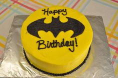 how to make an easy batman cake - Google Search