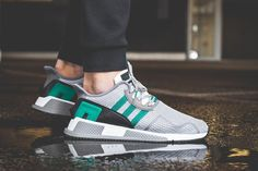 "adidas EQT Cushion ADV ""Sub Green/Turbo"" Pack - EU Kicks Sneaker Magazine"