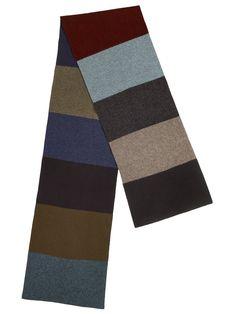 ebd53eda8f006 Colour Block Jacquard Scarf - Short - Jo Gordon Aw 2018, Colour Block, Color