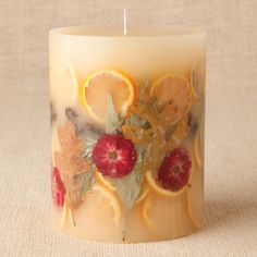 Rosy Rings Clementine & Clove Botanical Candle