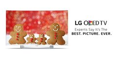 Snuggle up with the whole (gingerbread) family in front of the OLED. #OLEDisHere http://www.lg.com/us/experience-tvs/oled-tv/what-is-oled-tv