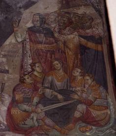 Medieval church or Privlepta, Ohrid, Macedonia Byzantine Art, Orthodox Icons, Medieval Art, Macedonia, Illuminated Manuscript, Kirchen, Religious Art, Pilgrimage, Vignettes