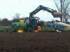 Big Tractors, John Deere Tractors, America And Canada, North America, Agriculture Tractor, New Tractor, Monster Trucks
