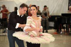 Danish Marzipan costume design from Boston Ballet's The Nutcracker