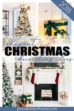 Elegant Christmas tr