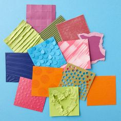 12 Ways to dress up cardstock.
