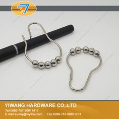 10 years manufacturer direct wholesale stainless steel curtain rings hooks clips