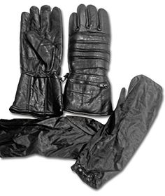 Special Offers - Warmest 12 Motorcycle Black Leather Riding Gauntlets by The Nekid Cow UNISEX Men & Women Gloves  Gauranteed  Includes Rain & Ice Cover Sleeve Accessory  Extra Long Glove with Extra protection for Cold Weather & All Year Round  Perfect for Winter & Snowmobiling (Snowmobiles)  Warm Waterproof Windproof PLUS FREE Digital Motorcycle eBook Guide (2X) - In stock & Free Shipping. You can save more money! Check It (August 20 2016 at 12:44AM)…