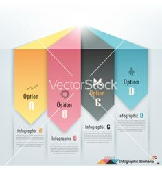 Modern infographics options banner vector - by epic_fail on VectorStock®