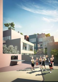 Urban Hybrid Housing Winning Proposal / MVRDV