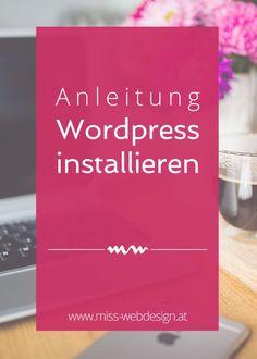 Wordpress installieren | miss-webdesign.at
