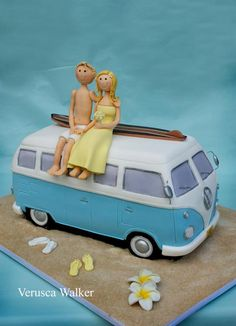 wanna have this!!!!! :D    VW Van Cake by Verusca Walker