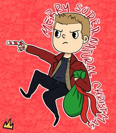 A Very Supernatural Christmas by ~JailhouseKing on deviantART