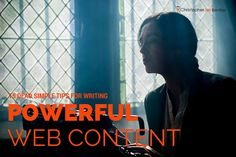 Learn the simple steps of writing powerful web content that will grab the attention of your target audience.
