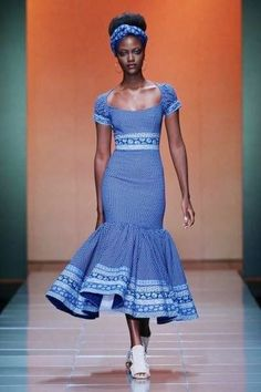 Ankara African traditional wedding dresses shweshwe-wedding-on- African Inspired Fashion, African Print Fashion, Africa Fashion, African Print Dresses, African Fashion Dresses, African Dress, African Prints, African Attire, African Wear