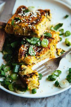 This rawsome vegan life: zucchini + chickpea frittata recipes чиа пудинг, к