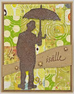 isälle - sateenvarjomies...
