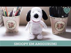 Aprenda com a artesã Luciana Ponzo a confeccionar um lindo amigurumi do snoopy usando nossos produtos!