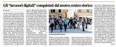 28 aprile 2013 - Il Tirreno #InvasioniDigitali a Carrara
