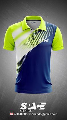 Sport Shirt Design, Sports Jersey Design, Shirt Logo Design, Sport T Shirt, Football Shirt Designs, Football Shirts, Soccer Outfits, Golf Outfit, Cricket Outfits