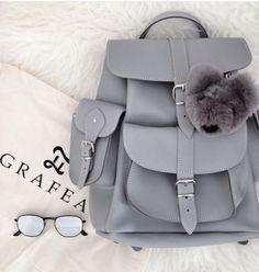 www.grafea.com Girly Backpacks, Cute Mini Backpacks, Stylish Backpacks, Stylish School Bags, Cute School Bags, Trendy Purses, Accesorios Casual, Girls Bags, Cute Bags